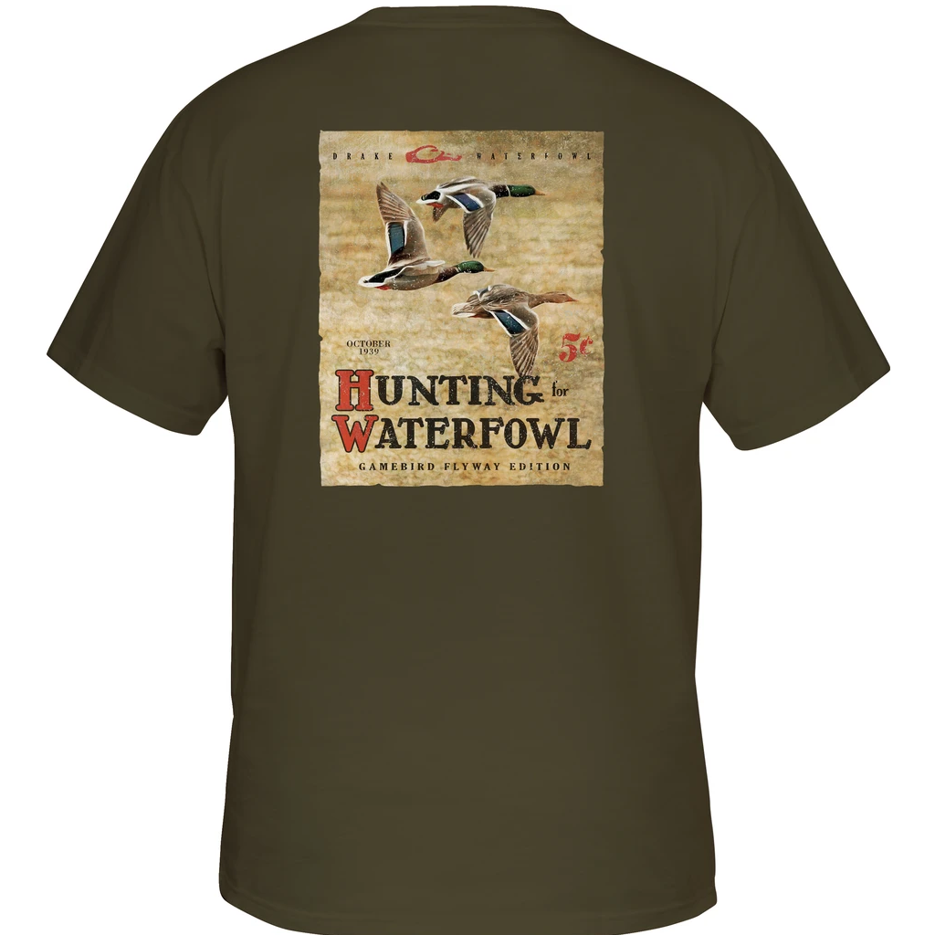 Drake Hunting Waterfowl Tee Short Sleeve