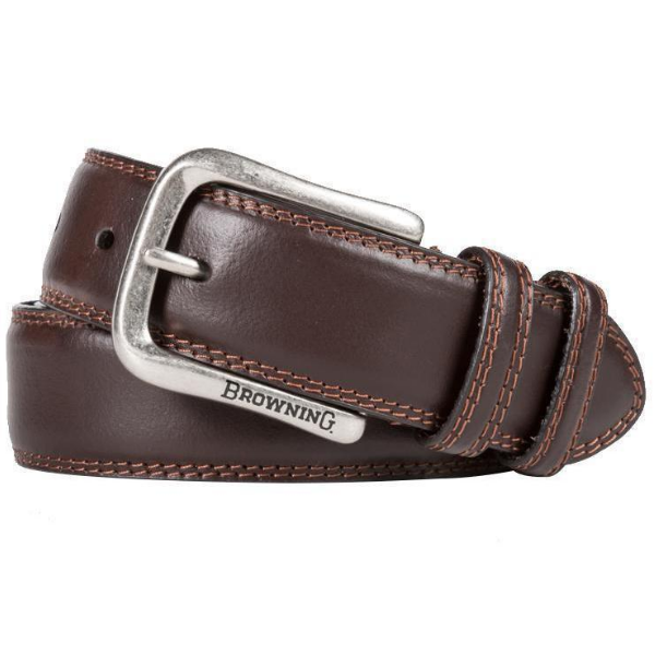 Browning Grafton Embroidered Leather Belt
