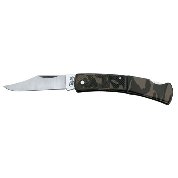 Case Lock Camo Knife