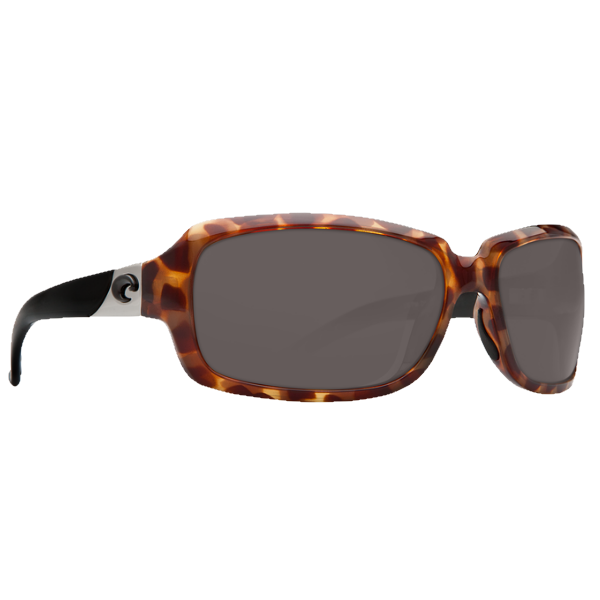 Costa Isabela Retro Tortoise With Black Temples/Gray