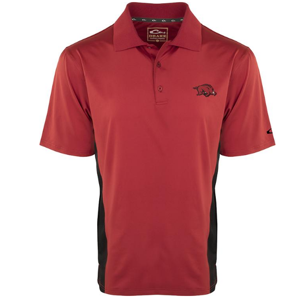 Drake Arkansas Performacne Polo with Mesh Sides