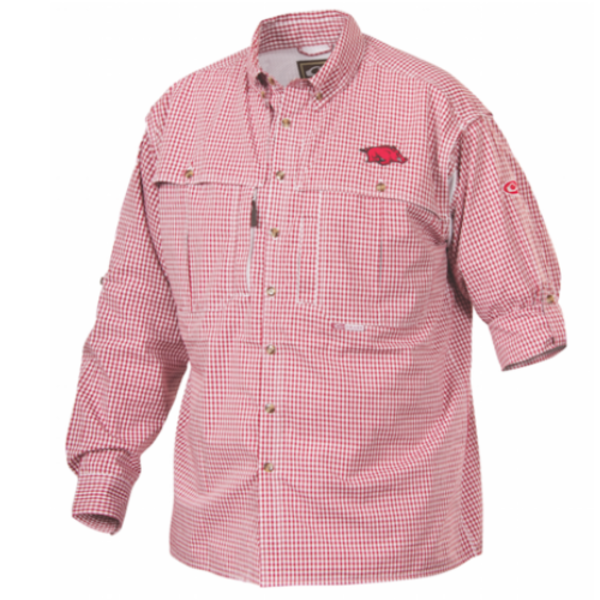 Drake Arkansas Plaid Wingshooter's Shirt Long Sleeve