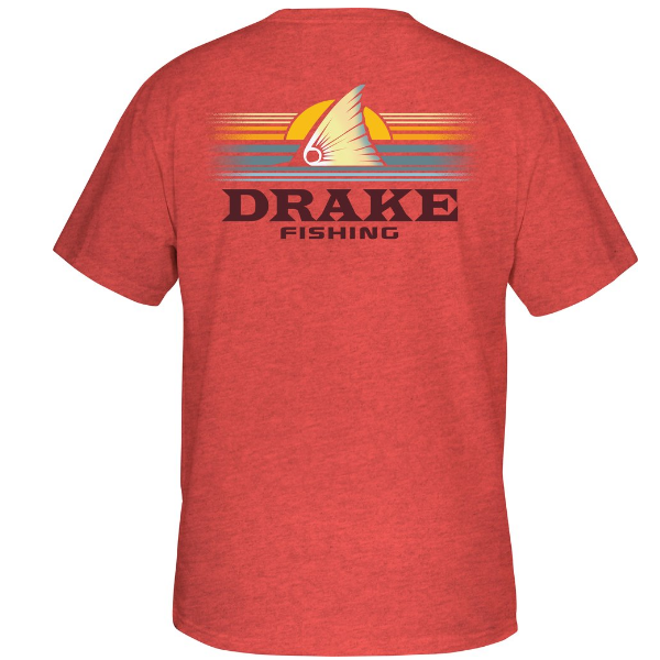 Drake Fishing Sunset S/S Tee