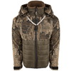 Drake LST Guardian Flex Double Down Eqwader Full Zip with Hood