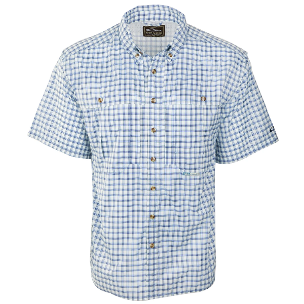 Drake S/S Featherlite Plaid Wingshooters Shirt