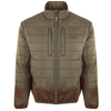 Drake Two-Tone Synthetic Double-Down Full Zip