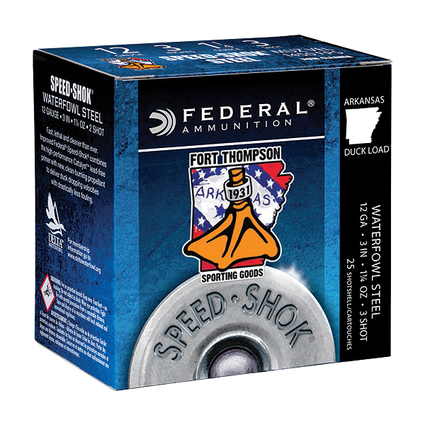 Federal 12GA 3IN 1 1/4OZ FT Logo WF142FT3-Case