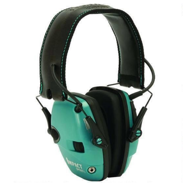 Howard Leight Impact Sport Teal Earmuff R-02521