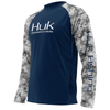 Huk Youth Performance L/S Camo