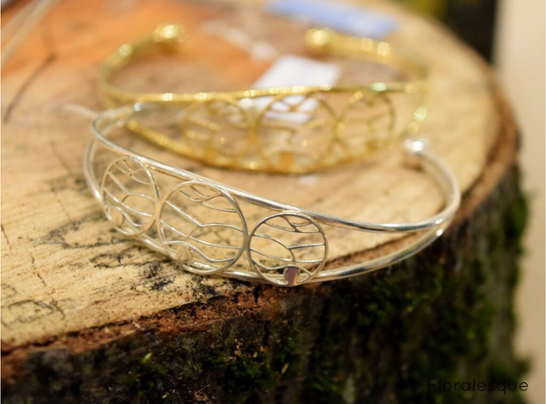 silver mountain bangle for girls