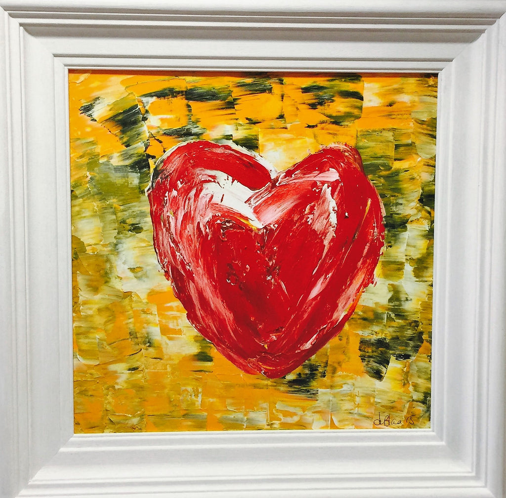 heart painting by deblaca