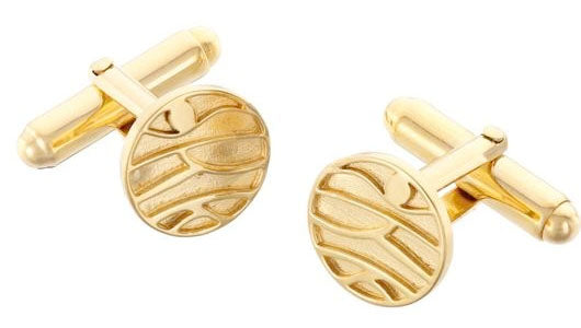 gift for men mountain cufflinks