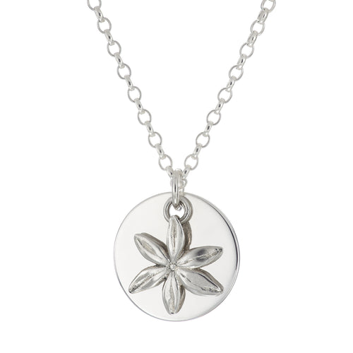 Personalise Charm Necklace - Daisies