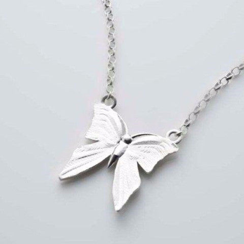 I still get butterflies gift set in silver