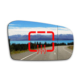 Wing mirror glass replacement for Kia Pride 1991 - 2000 - AGCP
