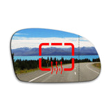 Wing mirror glass replacement for Citroen Saxo 1996 - 2003