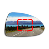 Wing mirror glass replacement for Vauxhall Corsavan Mk3 Mk4 D E 2006 - 2020 - AGCP