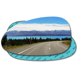 Wing mirror glass replacement for Daewoo Nubira J100 1999 - 2002