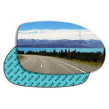 Wing mirror glass replacement for Citroen C5 Mk1 2000 - 2007