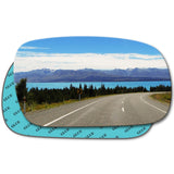 Wing mirror glass replacement for Daewoo Nexia 1995 - 2005