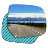 Wing mirror glass replacement for Ford Ranger 2006 - 2011