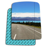 Wing mirror glass replacement for Renault Trafic 1995 - 2001