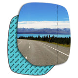Wing mirror glass replacement for Citroen Berlingo Mk1 1996 - 2007
