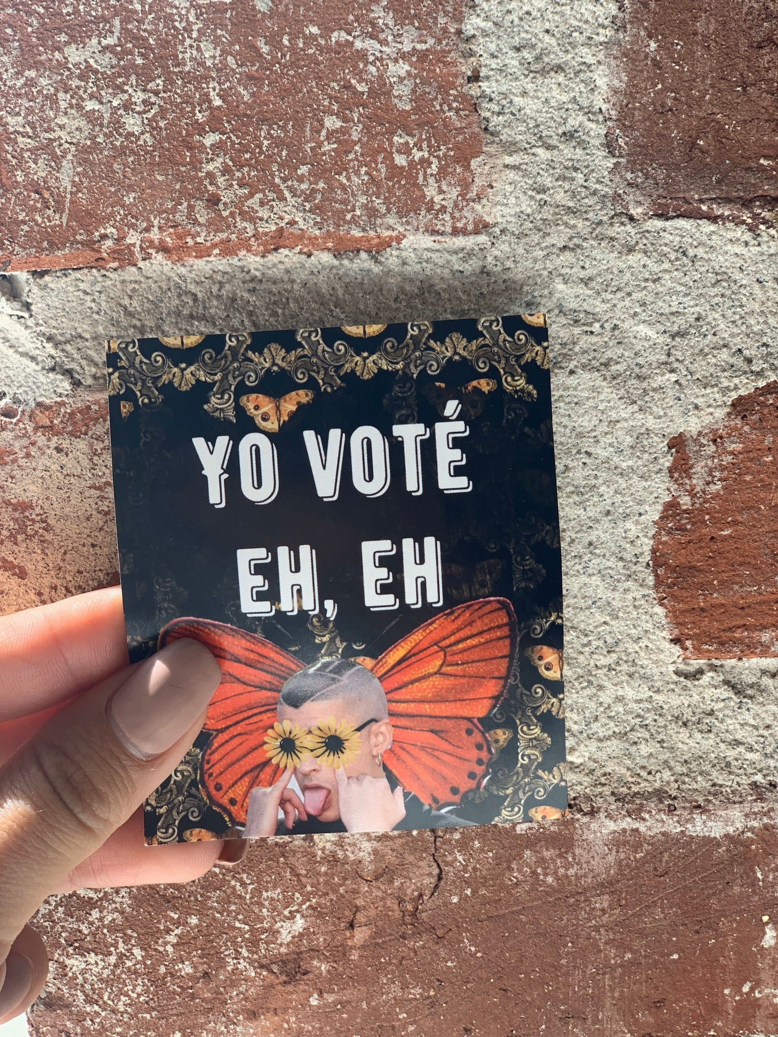 Yo Vote Sticker