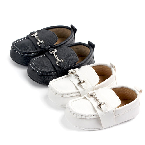 Baby Boy Leather Loafers