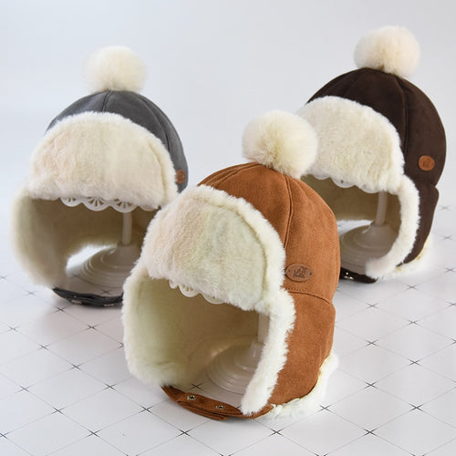 Suede Winter Hat