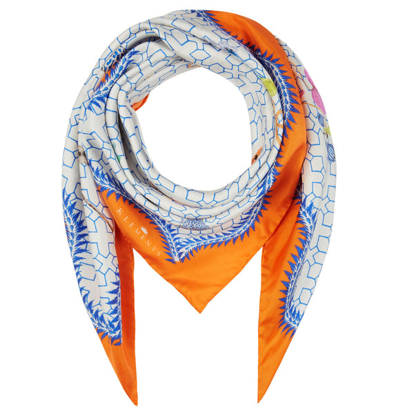 Medium Scarf in Bamboo Jungle print