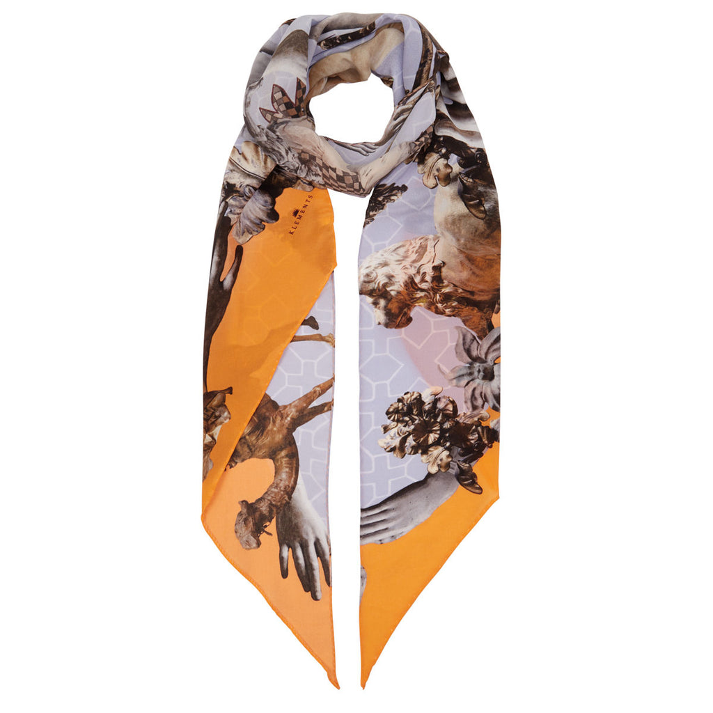 Razor scarf in Guardians of Protection print