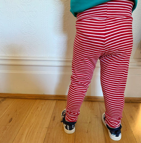 Simple Stripe Leggings