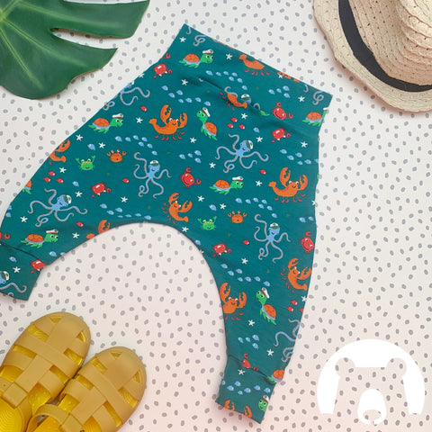 Under The Sea Harem Pants/leggings