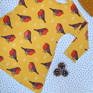 Yellow Robin dress