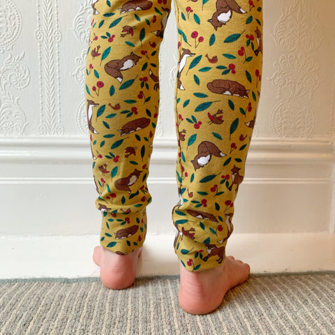 Mustard Fox Harem Pants/Leggings