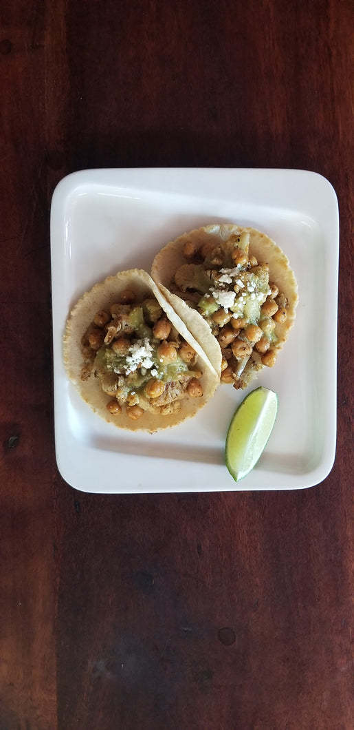Azucar Lounge - Vegetarian Special Tacos