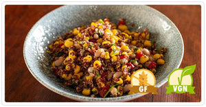 Greens Restaurant - Brentwood Corn & Black Eyed Pea Salad (vgn) (gf)