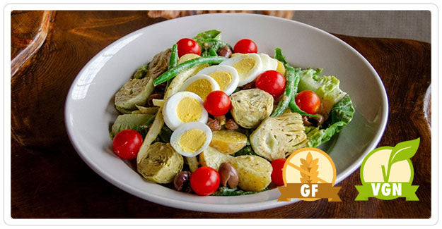 Greens Restaurant - Heirloom Bean Nicoise Salad (gf) (vgn-available)