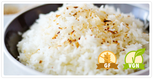 B Star - Side of Coconut rice (VGN, GF)