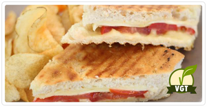Chai Bar - Grilled Cheese Sandwich (VGT): Serves 1