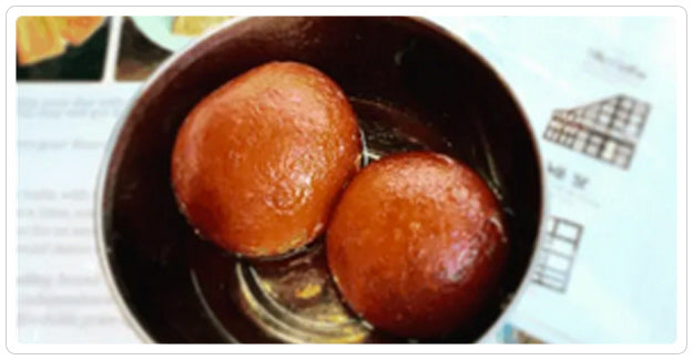 Kasa - Gulab Jamun – Dessert!: 2 pieces - AVAILABLE AT POLK ST ONLY