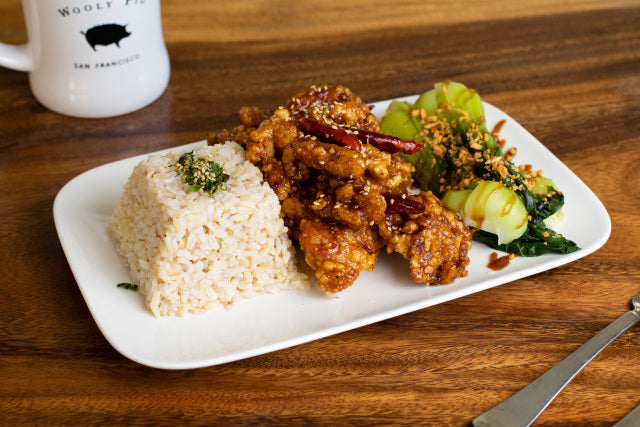 Wooly Pig - Szechuan Chicken (served all day)