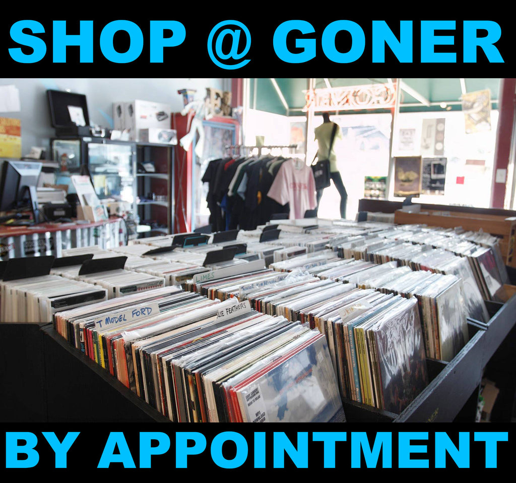 SHOP AT GONER BY APPOINTMENT- STARTING JUNE 15