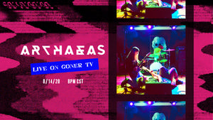 GONER TV FRIDAY AUG 14 8PM CST with ARCHAEAS LIVE IN THE STUDIO!