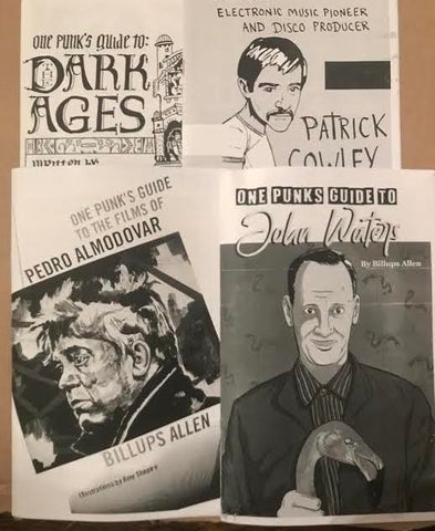 Billups Allen - One Punk's Guide zine bundle