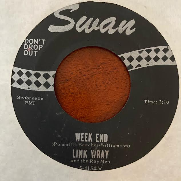 Link Wray - Week End (Used 45)