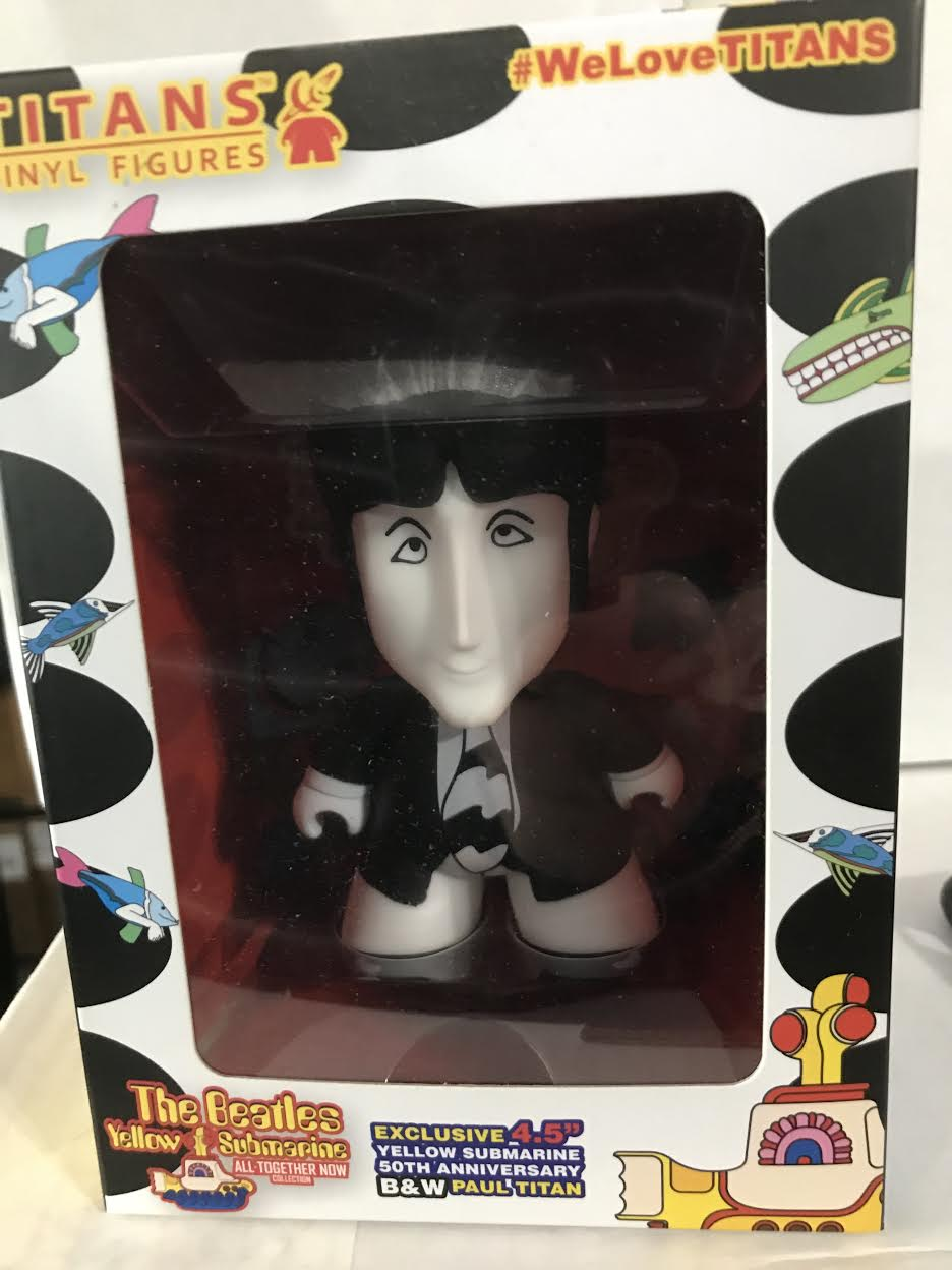 Beatles: Paul - Titan Figure: Black and White from Yellow Submarine