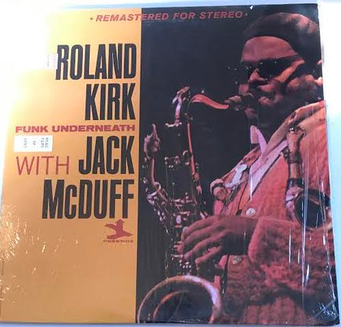 Roland Kirk - With Jack McDuff (Used LP)