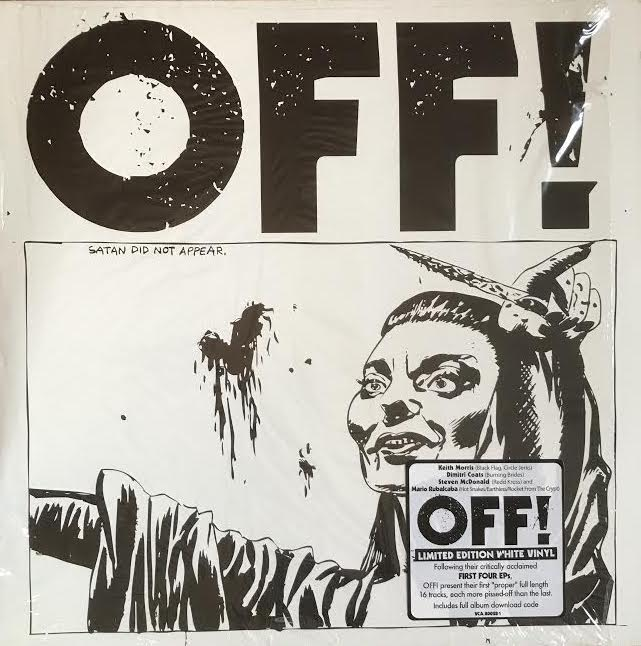 OFF! - Self-titled (Used LP)